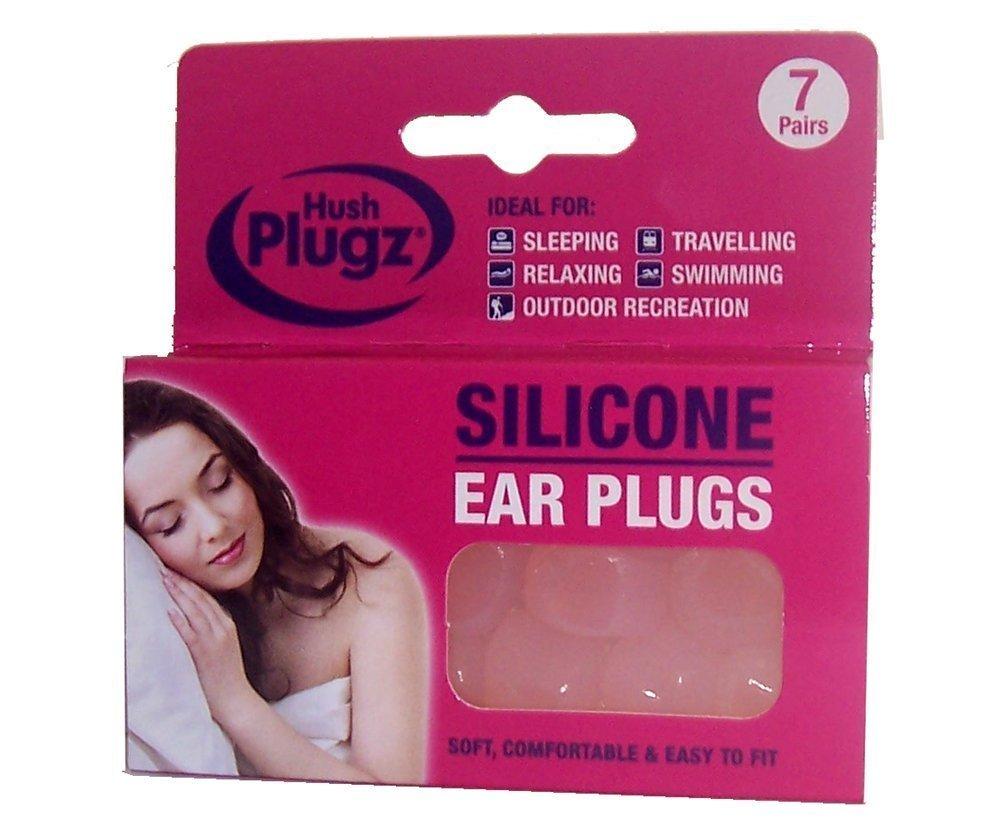 Tapones de silicona para los o/ídos Hush Plugz