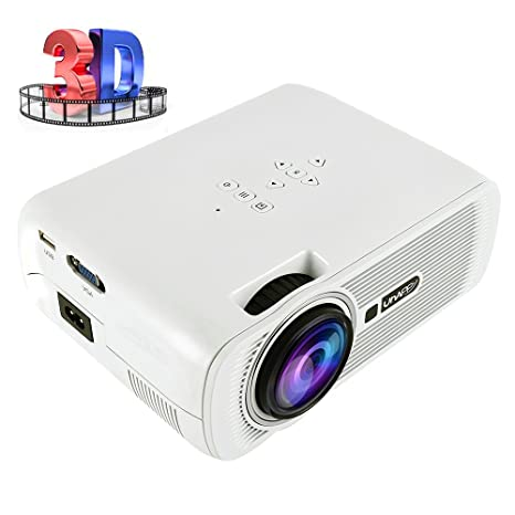 Proyector portátil Home Cinema Mini proyector LED Multimedia 3000 ...