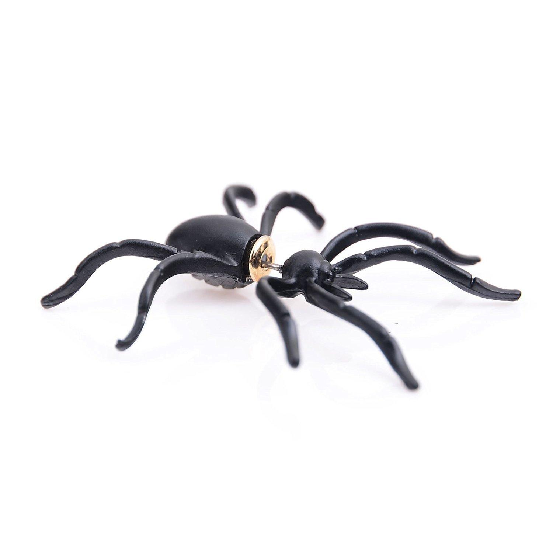 I LOVE DIY Boucles d'oreilles Fantaisie Araignée Costum Halloween Déguisement Femme Fille (1Paire) Yong Li Factory