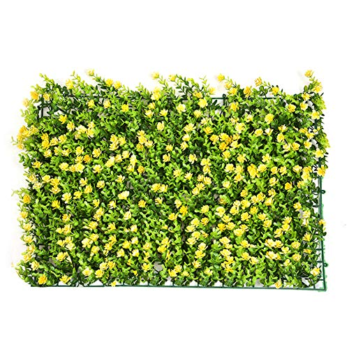 Grass Hanging Panel - YEYE Plastic Green Artificial Plant Screen Panels,Fake Wall Hanging Hedge Grass Background for Home Garden Wedding Party Decor-c 60x40cm(24x16inch)
