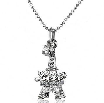 Amazon.com: megko Bling Crystal Rhinestone Collar con ...