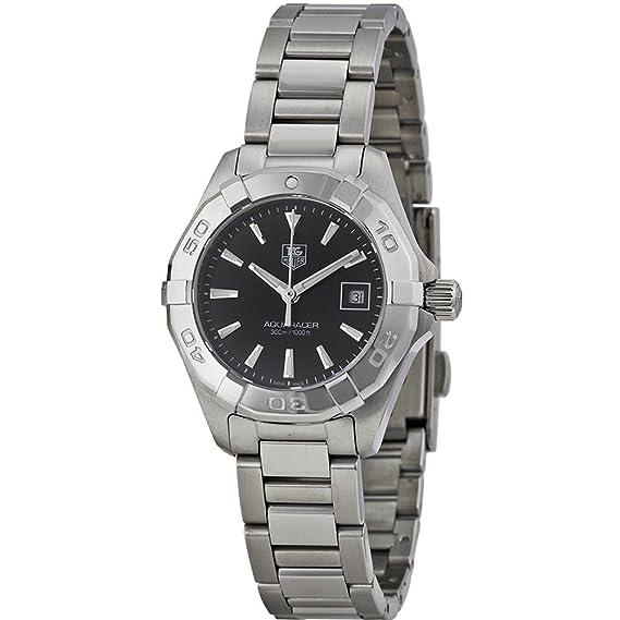 TAG Heuer WAY1410.BA0920 - Reloj para mujeres, correa de acero inoxidable color plateado