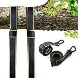 New - Swing and Hammock Straps Hanging Kit - Two 5ft Straps (Holds 2800lbs,), Easy Install for Any Swing or Hammock