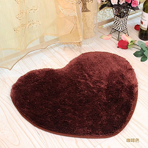 SU@DA Thicken Living room Bedroom Silky Carpets Ottomans Floating Window blankets Bedside Rugs Sofa , 1 , about 50 60cm