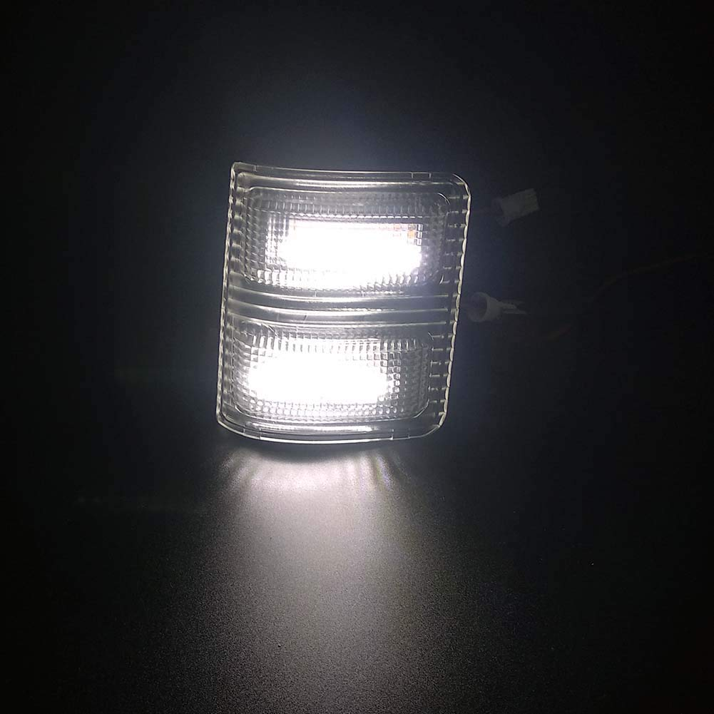 Xinctai 2PCS LED Side Mirror Marker Light Turn Signal Lamp for 2008 to 2016 Ford F250 F350 F450 F550 Super Duty Pickup Truck Smoke Lens//Clear Lens Smoke Lens-Amber Light
