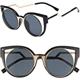 """PRIVÉ REVAUX """"The Feminist"""" Handcrafted Designer Cat-Eye Sunglasses For Women"""