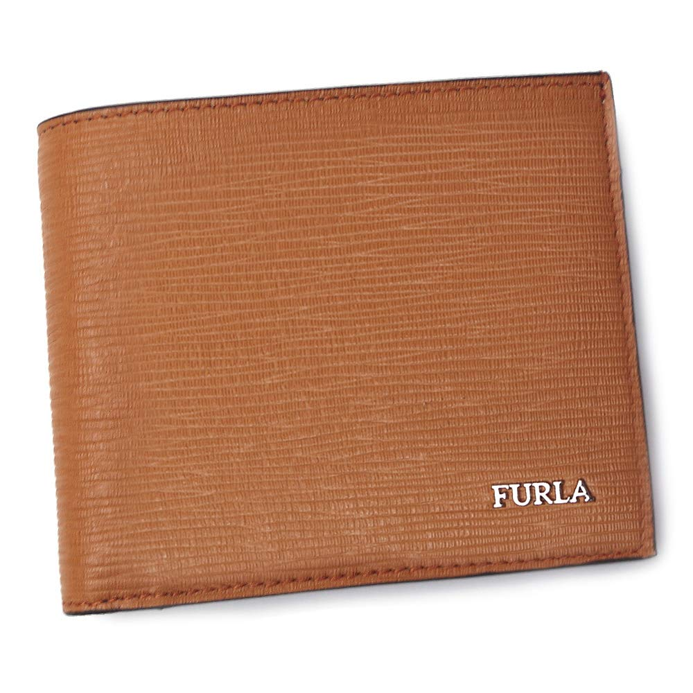 368f7a378bc1 Amazon | フルラ メンズ 財布 マルテ Mバイフォールド 993207 キャラメル/ネイビー FURLA [並行輸入品] | Furla(フルラ)  | 財布