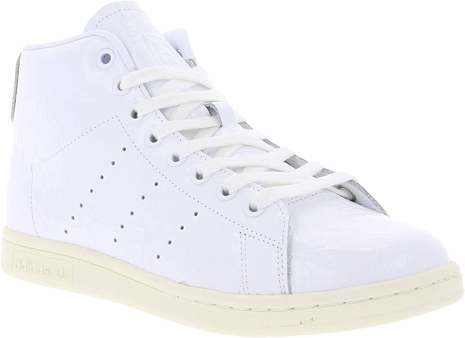 Palabra Hacer invernadero  adidas Stan Smith Mid W Ftwwht/Ftwwht/Cwhite - 43: Amazon.co.uk: Shoes &  Bags