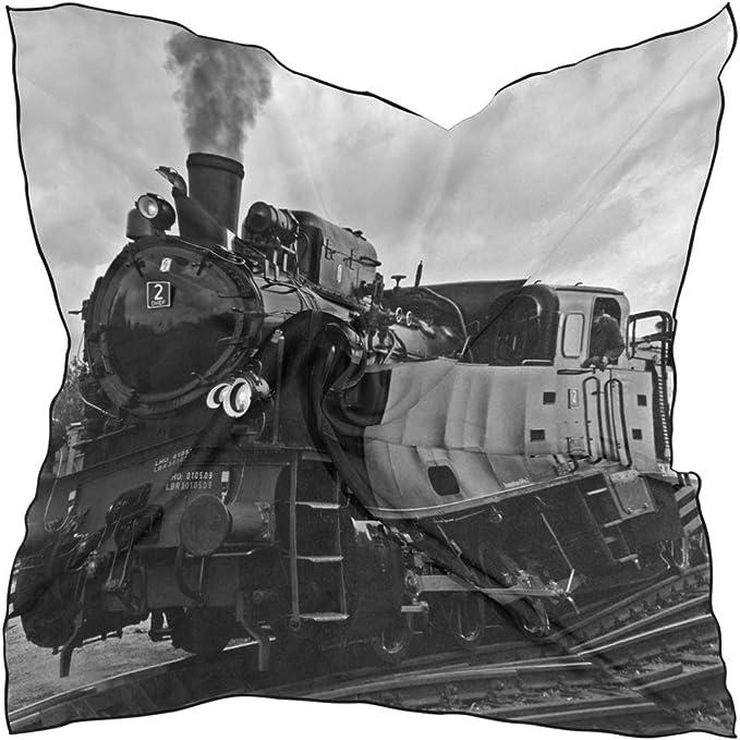 LUPINZ - Bufanda ligera para mujer, diseño de trenes de vapor ...
