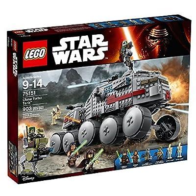 LEGO STAR WARS Clone Turbo Tank 75151 Star Wars Toy: Toys & Games
