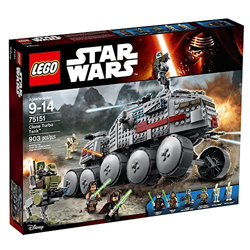 (LEGO Star Wars Clone Turbo Tank 75151 Star Wars Toy)