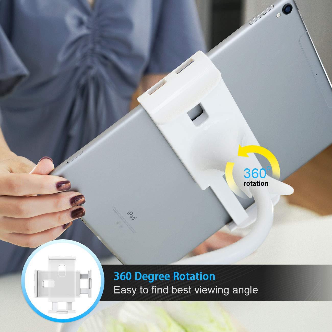 und Weitere 4,7-10,5 Zoll Tablets Phone Lamicall Schwanenhals Tablet Halter Schwarz Pad Air Tablet Halterung : Lazy Flexible Einstellbare Lang Arm St/änder f/ür Pad Mini 2 3 4 Neu Pad Pro 2019