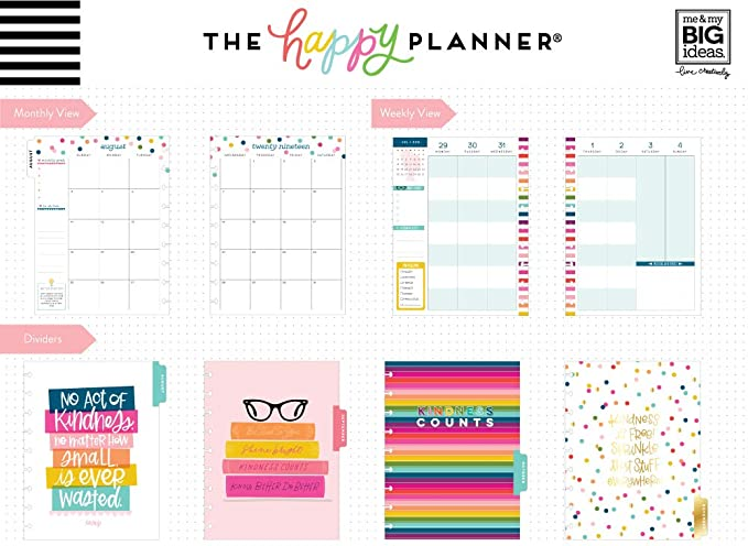 Amazon.com : The Happy Planner Classic Student Happy Planner ...