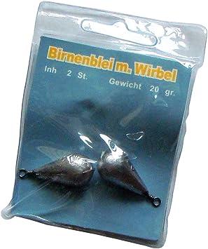 Angelblei Birnenblei grundblei blei 20 x30-80gr Angelzubehör Karpfenblei