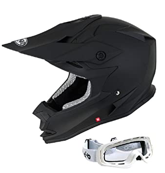 Casco de la Motocicleta VCAN FORCE Off Road Casco de Carreras Motos Casco de Motocross Enduro