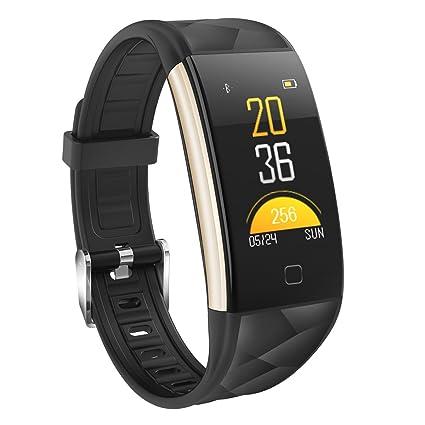 DIGGRO T20 Pulsera inteligente Smart Fitness Tracker HD Pantalla en color Frecuencia cardíaca Presión arterial Monitor ...