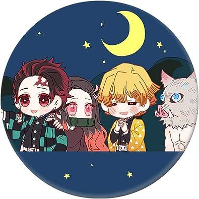 Kimetsu no Yaiba Kamado Tanjirou Pin Button Brooch Badge 5x Anime Demon Slayer