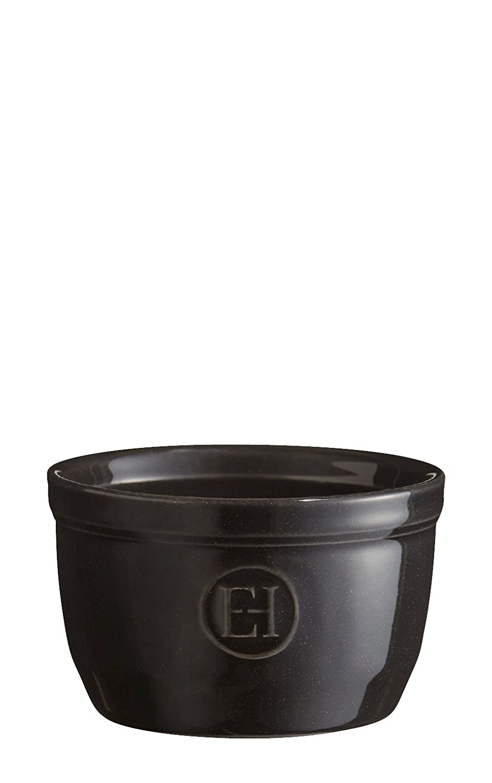 Emile Henry 2/Sch/älchen 9,/Keramik 9/x 9/x 5,5/cm Set Nr Keramik,Anthrazit