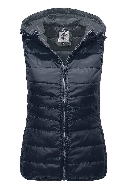 ONLY Damen Weste Onltahoe Contrast Hood Waistcoat Cc OTW 15118841