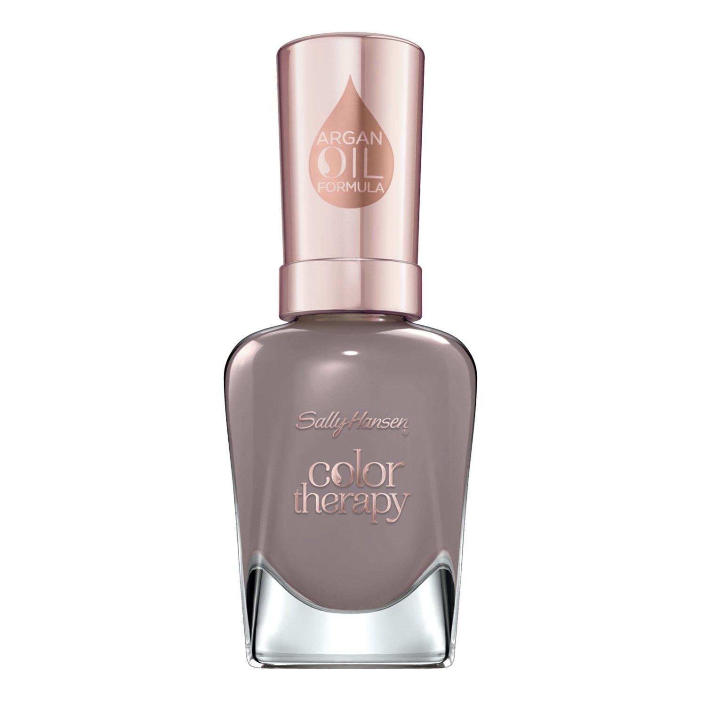 Sally Hansen Color Therapy Nail Polish, Steely Serene, 0.5 Fluid Ounce