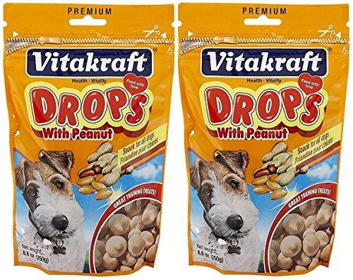 Vitakraft Yogurt Drops - Vitakraft Peanut Drops for Dog Treat [Set of 2]