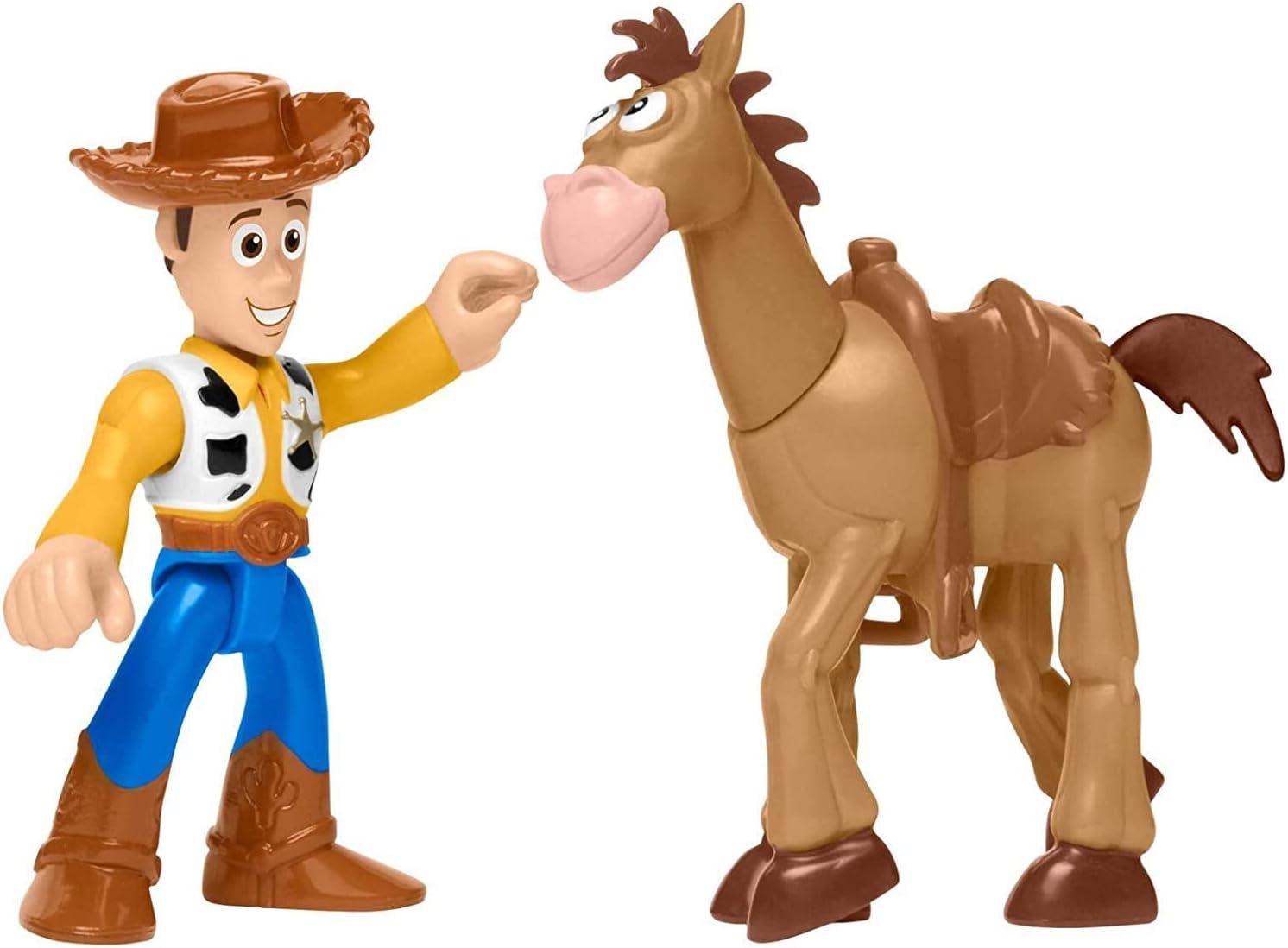 Toy Story Fisher-Price Disney/Pixar Imaginext 4 Woody & Bullsey 2 ...