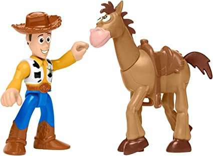 Imaginext Toy histoire Twin Pack-Woody /& Bullseye