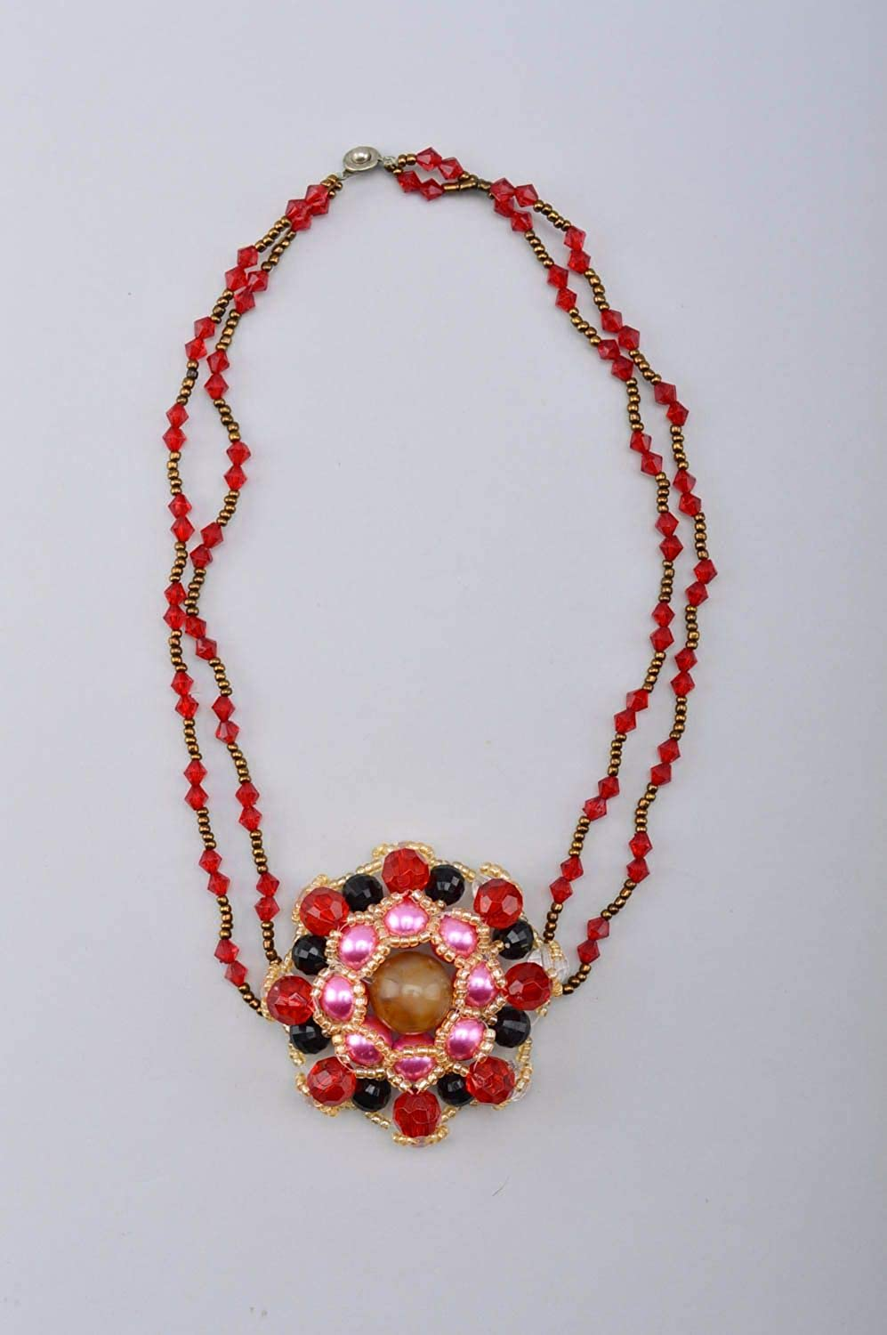Handmade Necklace Designer Accessory Gift Ideas Bead Necklace Gift for her