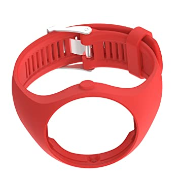 IPOTCH Banda de Muñequera Reemplazo Compatible con Polar M200 Reloj Inteligente - Rojo