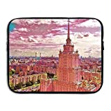 Fashion Laptop Sleeve Case Magnificent Church Architecture Art Computer Storage Bag Portable Protective Bag Briefcase Sleeve Bags Cover For Macbook/Ultrabook/Notebook/Laptop