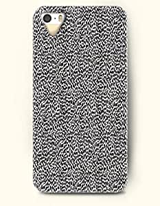 iPhone 5/5S Case, SevenArc Phone Cover Series for Apple iPhone 5 5S Case (DOESN'T FIT iPhone 5C)-- Black And White... by icecream design