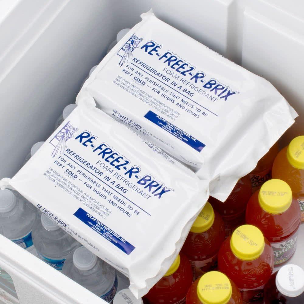 Polar Tech 28 oz re-freez-r-brix espuma Freeze Pack – 12/caso: Amazon.es: Hogar