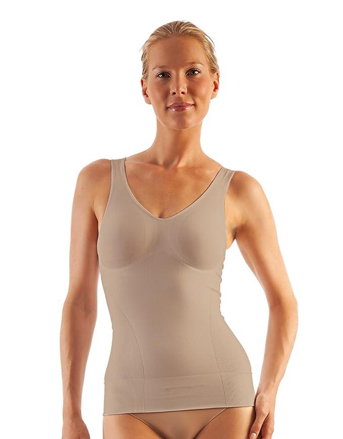 9 opinioni per FarmaCell Shape 607 Canotta microfibra contenitiva modellante push-up seno