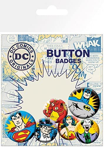 Cartoons Superhero Superman pin badge TV and Movies Comics