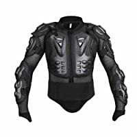 Wishwin Motorcycle Full Body Armor, Armor Jacket Protective Gear Racing BMX Professional for men women Detachable