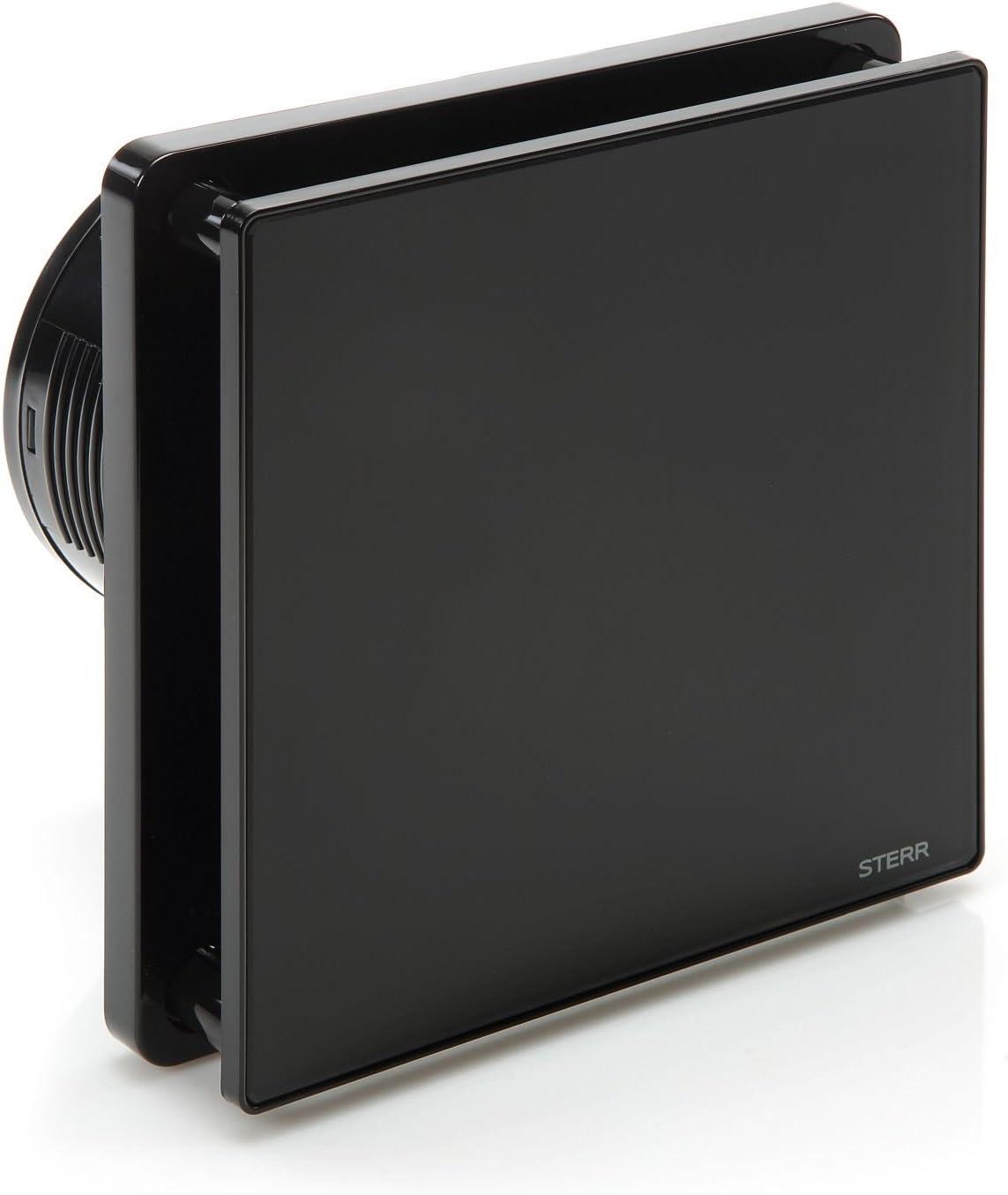 STERR - Negro extractor de baño Ventilador con temporizador – BFS100T-B
