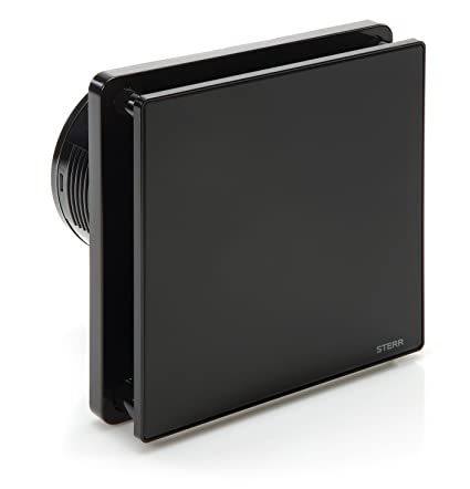 Awe Inspiring Sterr Black Bathroom Extractor Fan With A Timer 100 Mm 4 Bfs100T B Beutiful Home Inspiration Xortanetmahrainfo