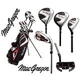 "MacGregor CG1900X Complete Golf Set 1"" LONGER & Stand Bag"