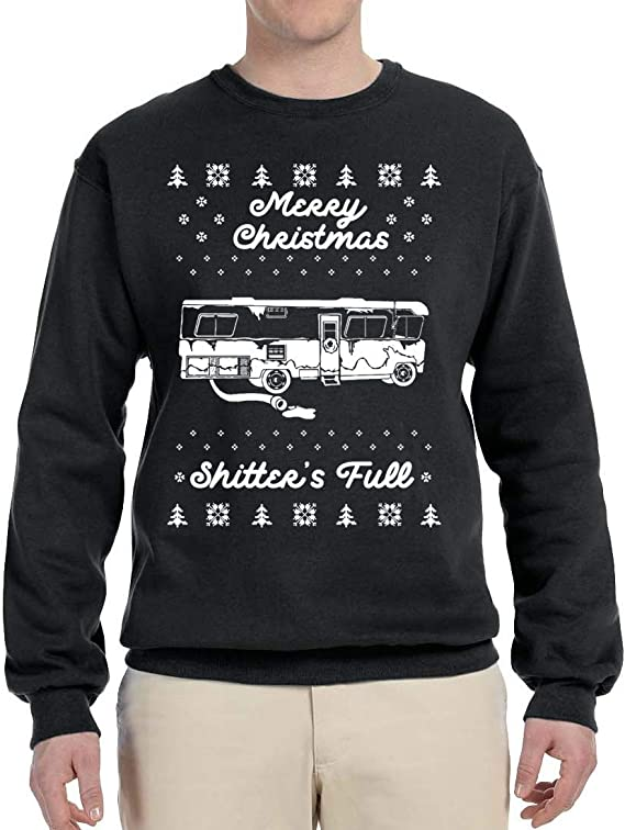 Merry Christmas Shitters Full Ugly Short-Sleeve Unisex T-Shirt