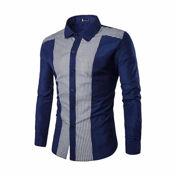 Camisa Hombres 2018 Moda Camiseta Ocasionales Oxford de la Manga Larga Hombres Camisas de Vestir Slim