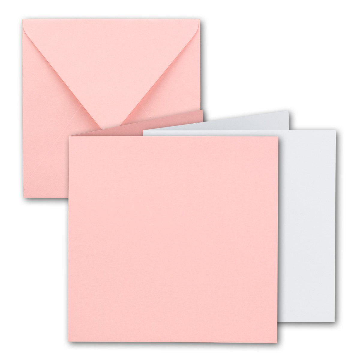 Quadratisches Falt-Karten-Set I 15 x 15 cm - mit Brief-Umschlägen Brief-Umschlägen Brief-Umschlägen & Einlege-Blätter I Royalblau I 75 Stück I KomplettpaketI Qualitätsmarke  FarbenFroh® von GUSTAV NEUSER® B07D4GMKBQ | Bunt,  9c02fc