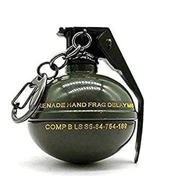 PUBG Game Battleground Hand Frag Grenade Green Colour Metal