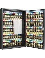 Barska 100 Position Key Cabinet with Key Lock, Black