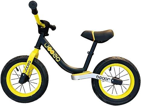 MLSH Bicicleta for niños, Bicicleta Deportiva de 3-6 años de Edad, for niños y niñas, Entrenamiento al Aire Libre, Bicicleta, sin Pedales Ruedas EVA Bicicletas de Asiento Ajustable: Amazon.es: Deportes y aire