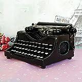 @LIU-Antique metal art Decoration retro typewriter model shooting film props (crafts do not work)
