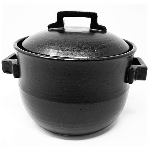 土鍋泡が出るきつさこの「本格土鍋 ごはん鍋 萬古焼 ばんこ焼」