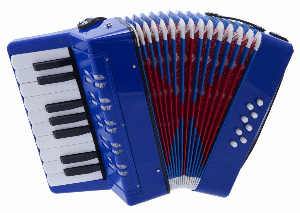 G104-BL 8ベース/17キー Kids Piano Accordion Kids用 Piano アコーディオン D'Luca社 Blue【並行輸入】BlueB003LUYX6I, 大胡町:6e6aabfb --- publishingfarm.com