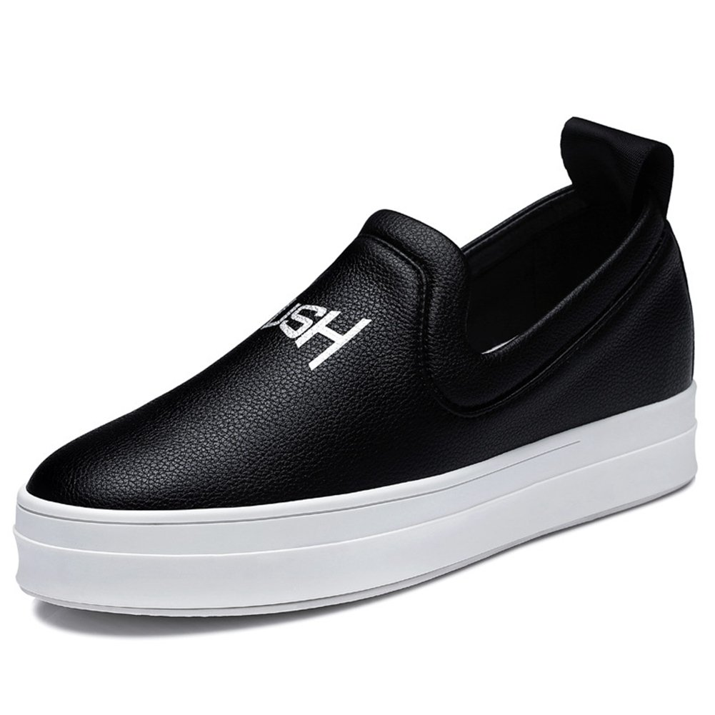 Womens Sneakers Flat Slip On Anti-Slip Easy On and Off Thick Bottom Casual Shoes