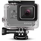 DECADE GoPro HERO 7 6 5 HERO(2018)防水ハウジングケース ダイブハウジング 防水 防塵 保護ケース 水深45m 水中撮影用