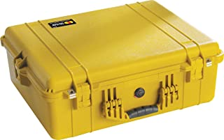 product image for Pelican 1600 Camera Case With Foam (Yellow)